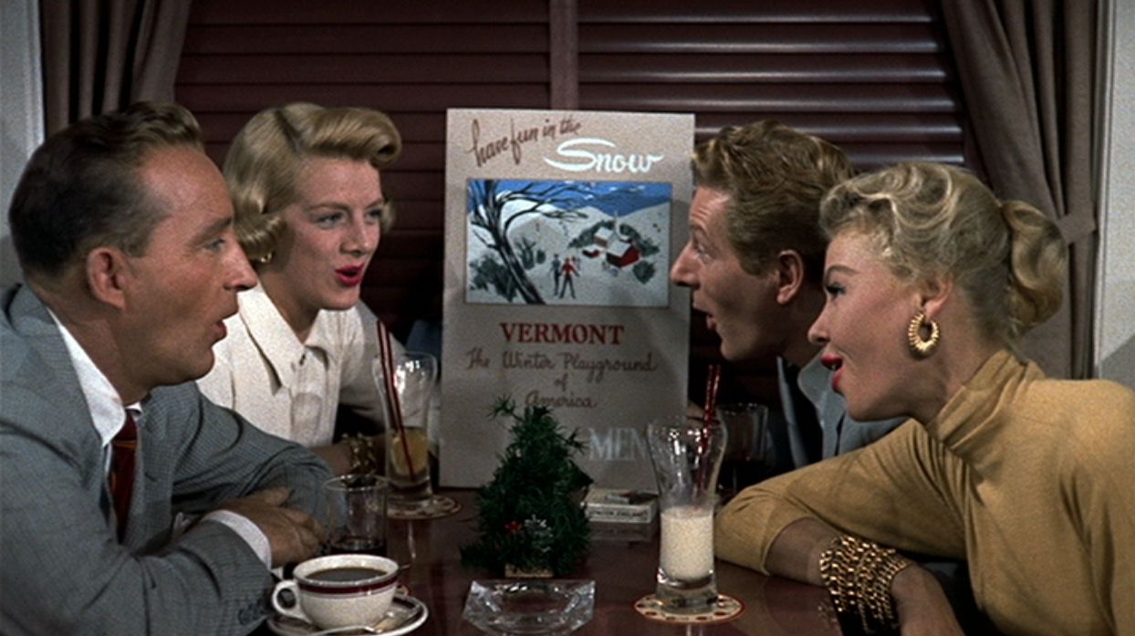 white christmas cast with bing crosby