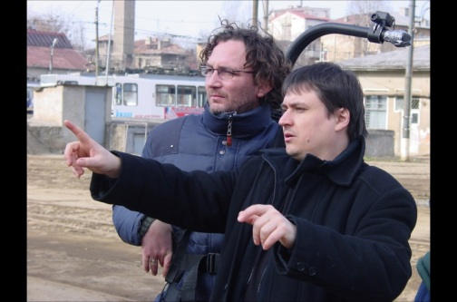 Cristian Mungiu and cinematographer Oleg Mutu