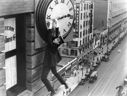 HLE102635 Safety Last 1923 dangling from clock-2.tif